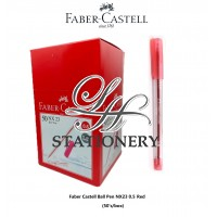 Faber Castell Ball Pen NX23 0.5mm - Red